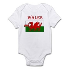 Wales Rugby Infant Bodysuit