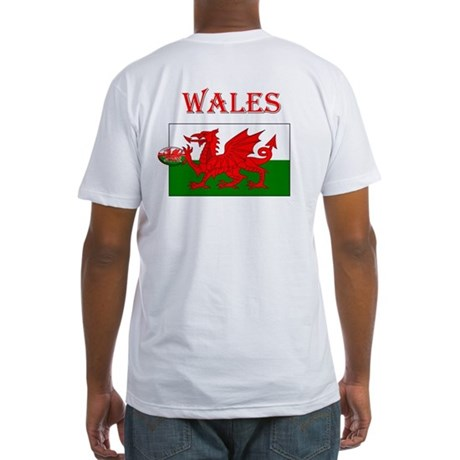 Wales Rugby Fitted T-Shirt