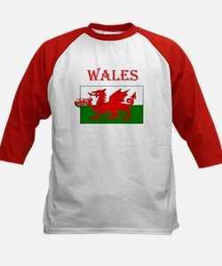 Wales Rugby Kids Baseball Jersey