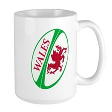 Welsh Rugby Ball MugMugs