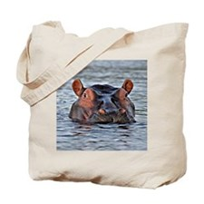 Cute Hippopotamus Tote Bag