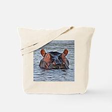 Cute Hippopotamus Tote Bag