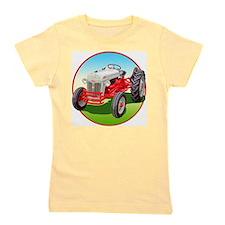 Cute Tractors vintage Girl's Tee