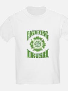 Fighting Irish Firefighter T-Shirt