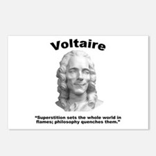 Voltaire Superstition Postcards (Package of 8)