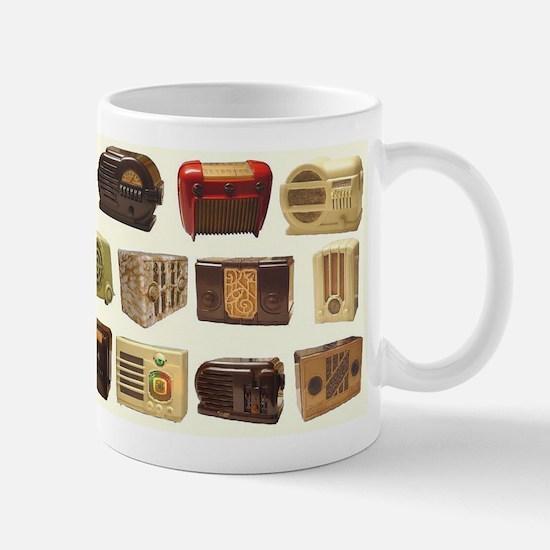 Old School Radio Mugs