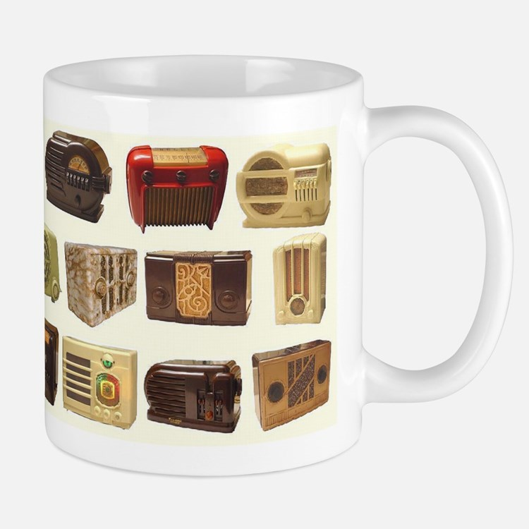Old School Radio Mugs