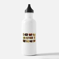 Old School Radio Water Bottle