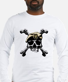 Cute Special forces skull Long Sleeve T-Shirt