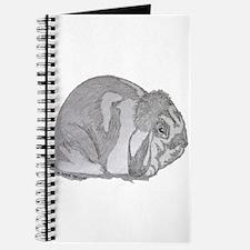 Mini Lop By Karla Hetzler Journal