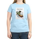 Christmas reindeer Women's Light T-Shirt