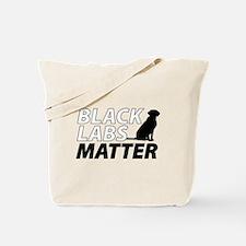 Unique Black labs Tote Bag