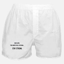 Dear Liver Boxer Shorts
