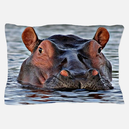 Hippo Pillow Case
