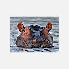 Hippo 5'x7'Area Rug