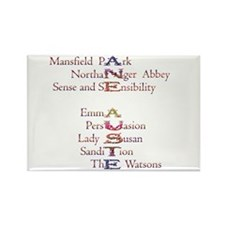 Cute Austen Rectangle Magnet (10 pack)