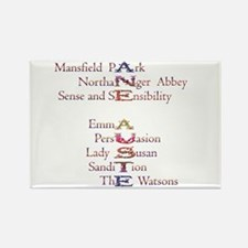 Cute Austen Rectangle Magnet (10 pack)