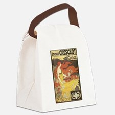 American Crescent Cycles Canvas Lunch Bag