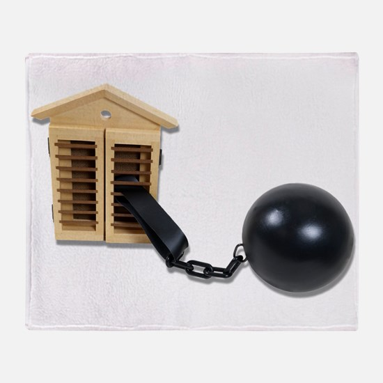 HouseBallChain082510.png Throw Blanket