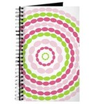 Pink & Green Mod Retro Journal
