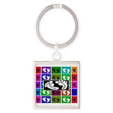 Unique Neonatal icu Square Keychain