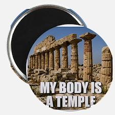 Cute Temple humor Magnet