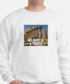 Cute Temple humor Sweatshirt