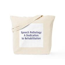 Speech Pathology Tote Bag