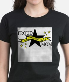 Unique Proud air force mom Tee