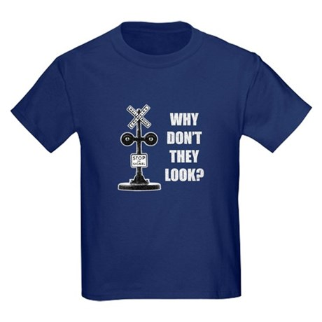 Why Dont They Look Kids Dark T-Shirt