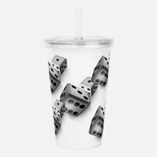 Dice Acrylic Double-wall Tumbler