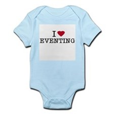 I Heart Eventing Infant Creeper