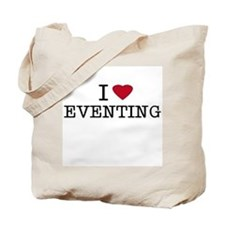 I Heart Eventing Tote Bag