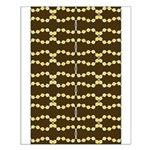 Retro Dots Art Small Poster