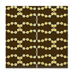Retro Dots Art Tile Drink Coaster