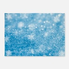 FROSTED FLAKES 5'x7'Area Rug