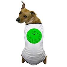 Cute Green Planet Dog T-Shirt