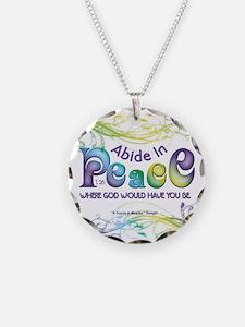 Abide In Peace Necklace