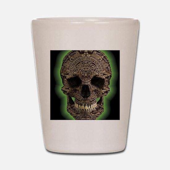 Unique Aztec Shot Glass