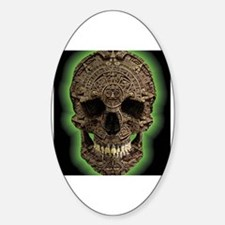 Unique Aztec Sticker (Oval)