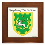 King of the Outlands Framed Tile