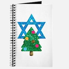 glitter christmukkah Journal