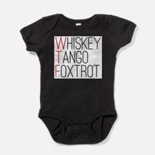 Cute Wtf Baby Bodysuit