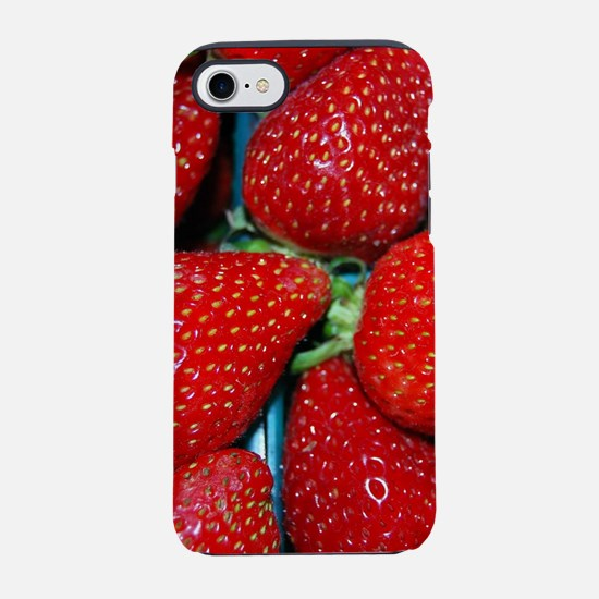 STRAWBERRIES 3 iPhone 8/7 Tough Case