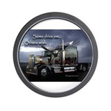 18 wheeler Wall Clocks