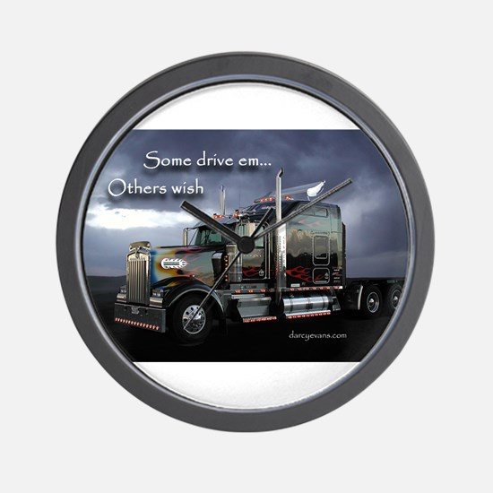 Truckers Wall Clock