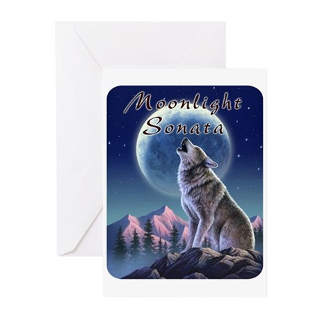 Moonlight Sonata Greeting Cards (Pk of 10)