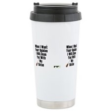 Cute Conductor Travel Mug