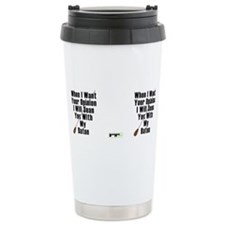 Cute Middle school band director Travel Mug