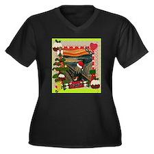 the scream christmas Plus Size T-Shirt